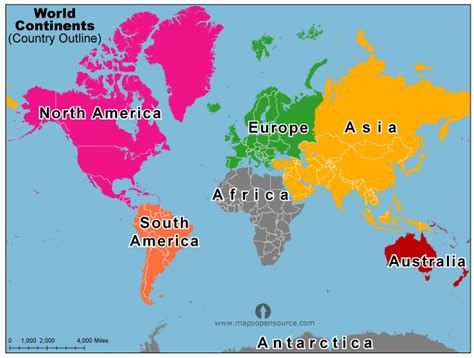 image of world map with continents map of the world with continents world map weltkarte