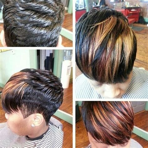 what is a dymensional haircut colors highlights and highlighted bangs on pinterest