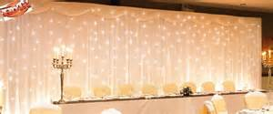 diy lighted backdrop weddingbee