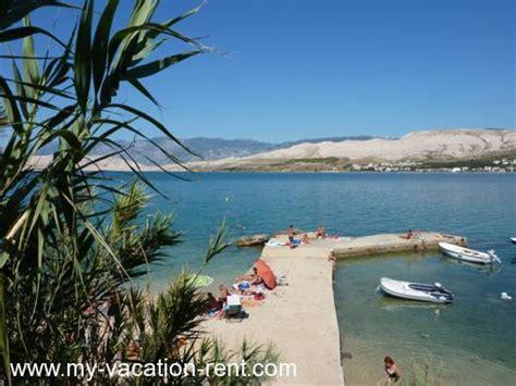 isola di pag croazia appartamenti appartamenti cajner pag isola di pag quarnaro croazia