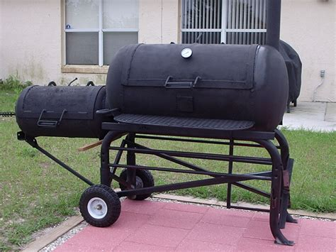 pin bbq smoker plans on