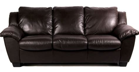 plush leather sleeper sofa near new condition
