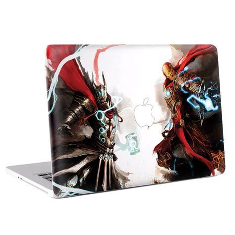 Macbook Aufkleber Marvel by Iron Und Thor Macbook Skin Aufkleber