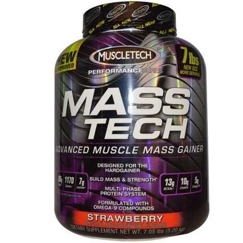 weight gainer muscletech