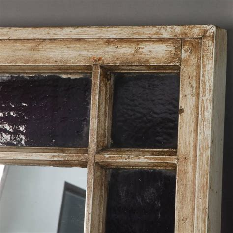 ana white reclaimed wood framed mirrors featuring the antique window frame mirror with original amethyst stained
