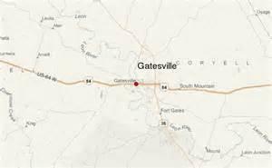map of gatesville gatesville location guide