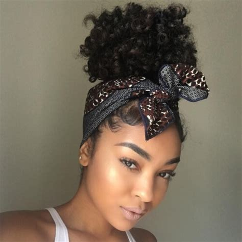 Scarf Black Hairstyles For Hair by 50 Protective Hairstyles For Hair Hair Motive