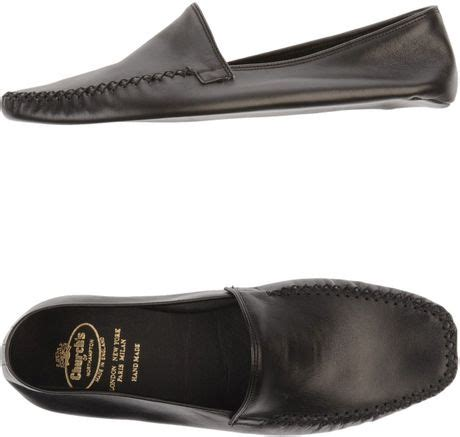 church s slippers church s slippers in black for lyst