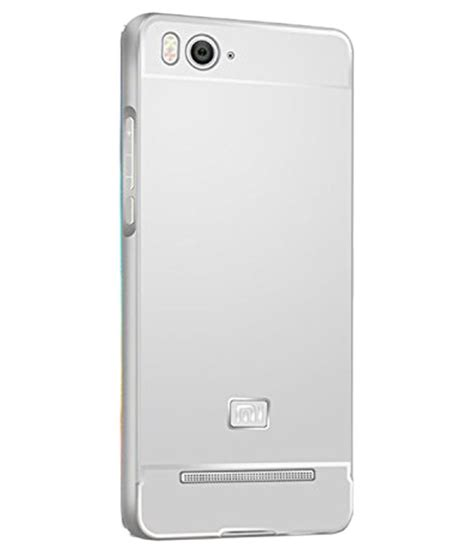 Xiaomi Mi4i Imei Hilang aeoss back cover for xiaomi mi4i silver plain back covers at low prices snapdeal india