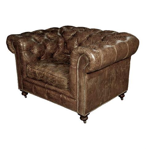 leather cigar chair kensington chesterfield leather arm chair in vintage cigar