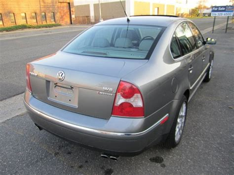 Passat W8 For Sale by 2003 Volkswagen Passat W8 4motion 6 Speed German Cars