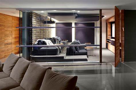Home Theater Hvn entertainment contemporary home theater miami by sw designs