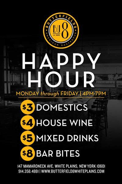 Happy Hour Menu Template by 1000 Images About Menu Design Layout On