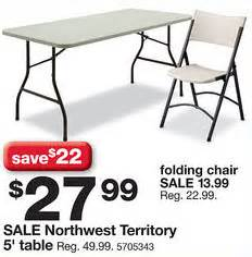 Table L Black Friday Northwest Territory 5 Ft Folding Table Blackfriday Fm