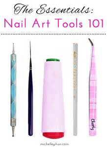 What are the different nail art tools with pictures apps directories