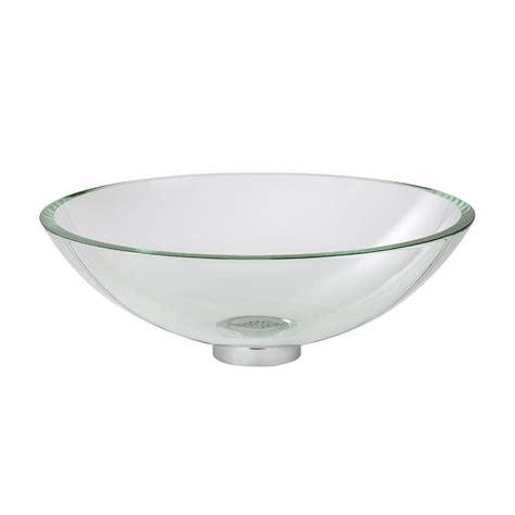 American Standard Vessel Sinks by American Standard Dorian Vessel Sink In Clear Glass 0978