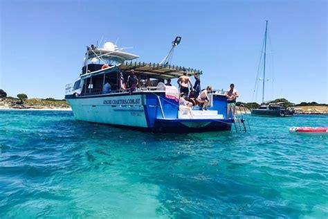 rottnest boat landing fee rottnest island charter lady grace boat charters