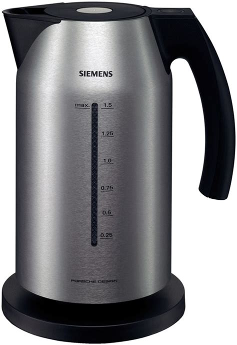 Siemens Porsche Kettle by Porsche Design Cordless Kettle