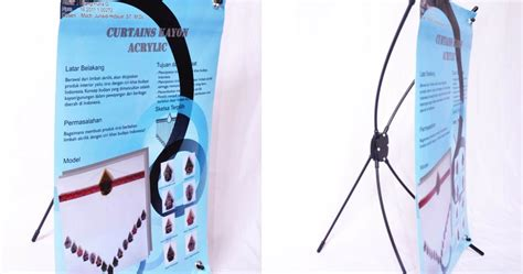 X Banner Atau Y Banner Paket Dengan Spanduknya Bahan Flexi China amiko digital studio surabaya amiko produk promosi pesan