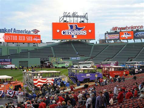 duck boats boston red sox parade mlb world series boston red sox parade