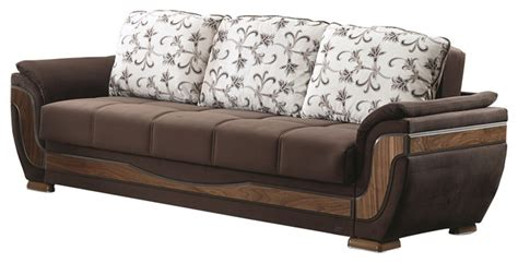 Belmont Sofa Bed Traditional Sleeper Sofas By Beyan Traditional Sleeper Sofa