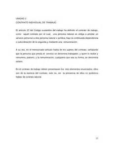 carta de preaviso de no renovacion contrato laboral por el trabajador derecho laboral