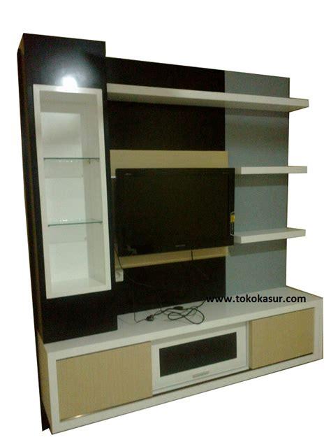 Muft715 Buffet Tv Panjang lemari pajangan diswar buffet partisi penyekat ruangan lemari hias murah lengkap