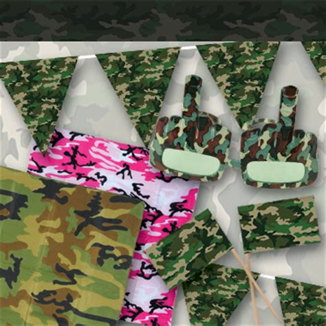Camouflage Decorations by Camo Supplies Decorations Partycheap