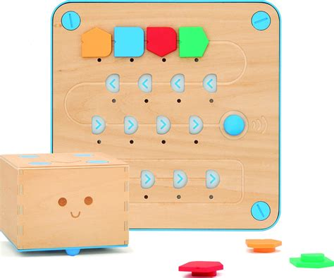 coding play primo toys cubetto play set robot coding set stem supplies