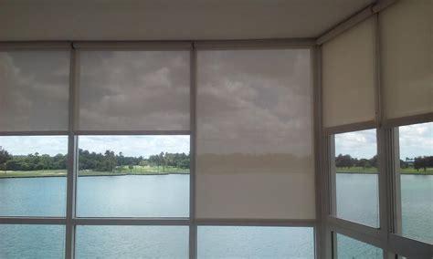 Solar Shades Ford Window Treatments Solar Screen Roller Shades