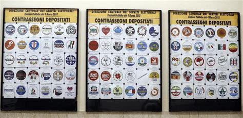 interni elezioni elezioni politiche simboli liste sul sito ministero