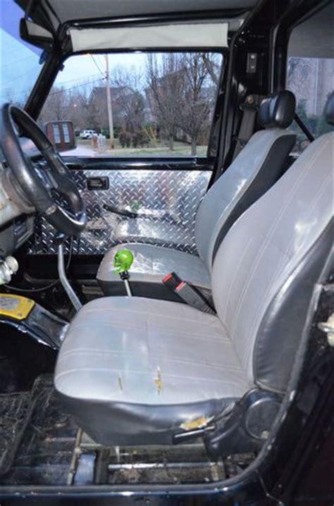 Suzuki Samurai Rear Seat Buy Used 1988 5 Suzuki Samurai Lifted V6 Auto Black