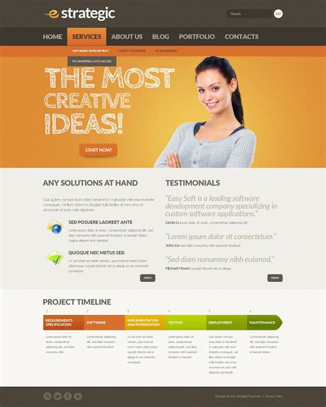 drupal themes overview marketing agency drupal template 38314