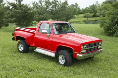 1986 chevrolet 4x4 1986 chevy 4x4 stepside for sale photos technical
