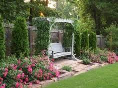 swinging mums ideas for small island shape garden for center of navk