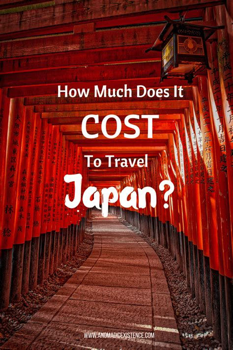 How Much Do Mba Cost In Japan by How Much Does It Cost To Travel Japan A Nomadic Existence