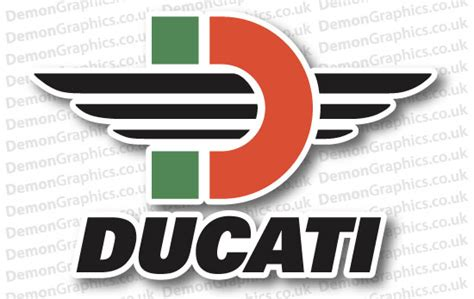 Ducati Car Sticker by Ducati Car Graphics By Demon Graphics Makers Of High