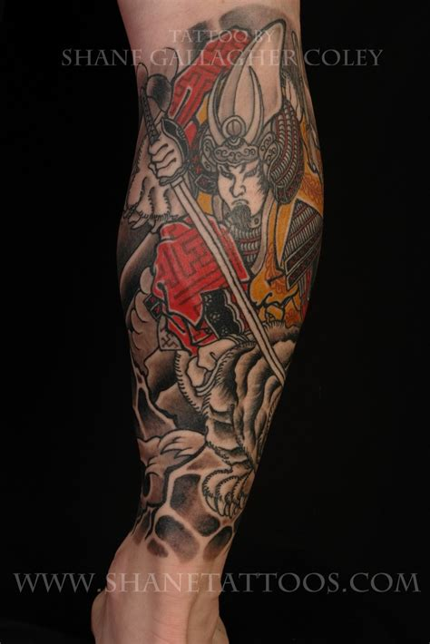 samurai sleeve tattoo samurai sleeves
