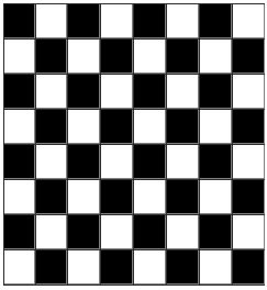 php for loops exercise: create a chess board using for