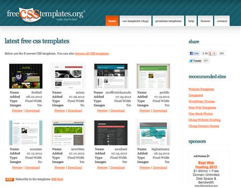 web templates for articles 15 best sites to download free web templates