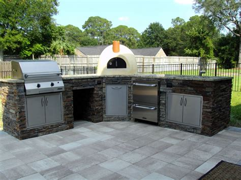 summer kitchen ideas bloombety outdoor summer kitchens by design stack stone