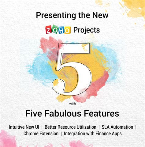 Heres To A Fabulous by Zoho Projects 5 Is Here And Five Fabulous Reasons To