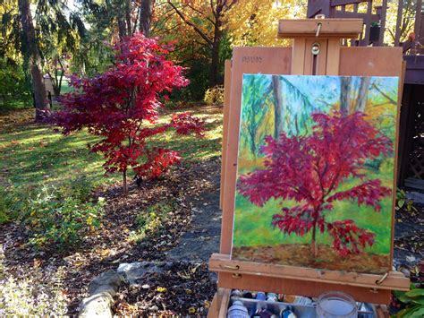 cernak japanese maple tree painting 5web cernak studios