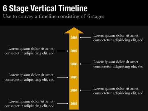 Vertical Timeline Template vertical timeline template for keynote and powerpoint