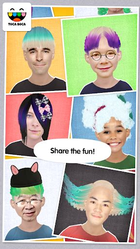 toca boca hair salon me apk toca hair salon me for android