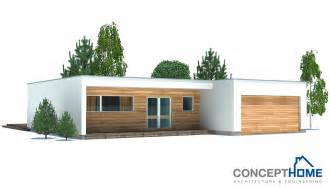 contemporary modern house plans affordable home plans modern economical house plan ch167
