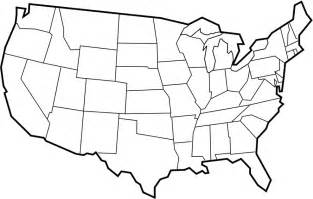 united states map black and white clipart bbcpersian7