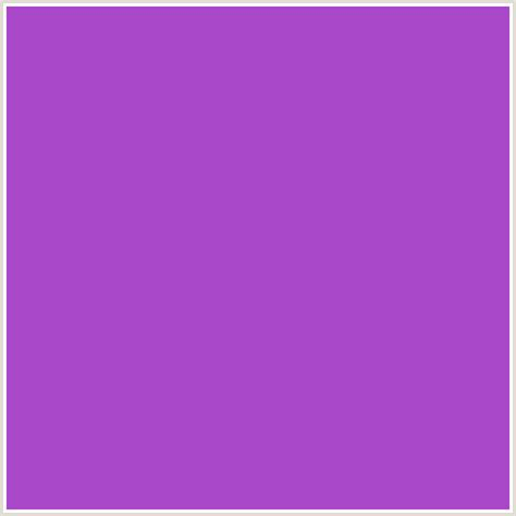 #a947c9 hex color | rgb: 169, 71, 201 | amethyst, purple