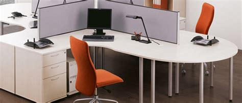 Circular Office Desk Desk Extensions Office Desks Meridian Office Furniture