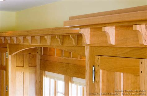 Kitchen Crown Moulding Ideas by Craftsman Crown Molding Crowdbuild For